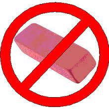 NO Eraser
